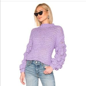 Purple Tularosa Chunky Sweater - S
